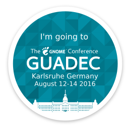 Going to GUADEC 2016