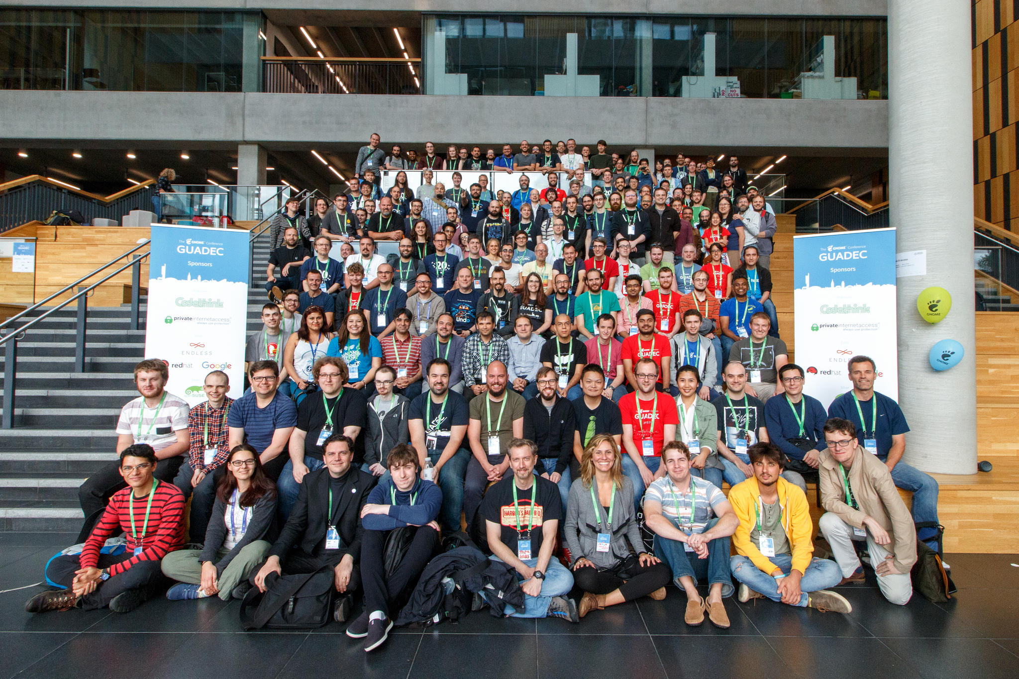 GUADEC 2017 - Group photo